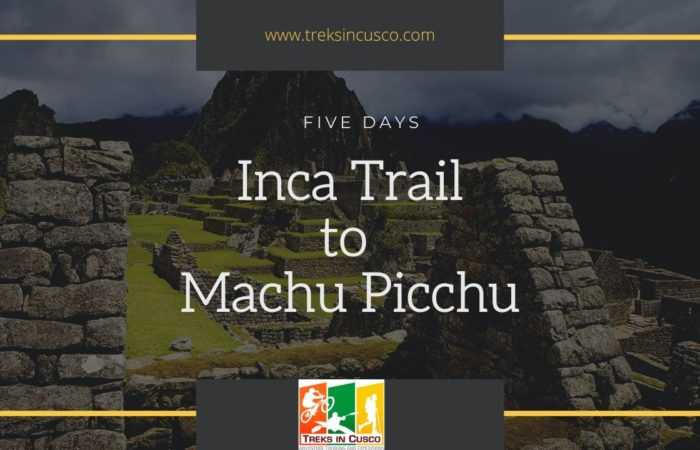 Inca Trail 5 Days Hike to Machu Picchu