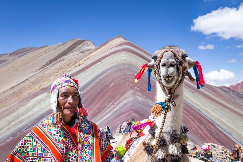 Rainbow Mountain Peru Day Trip from Cusco, Rainbow Mountain Ausangate Trek