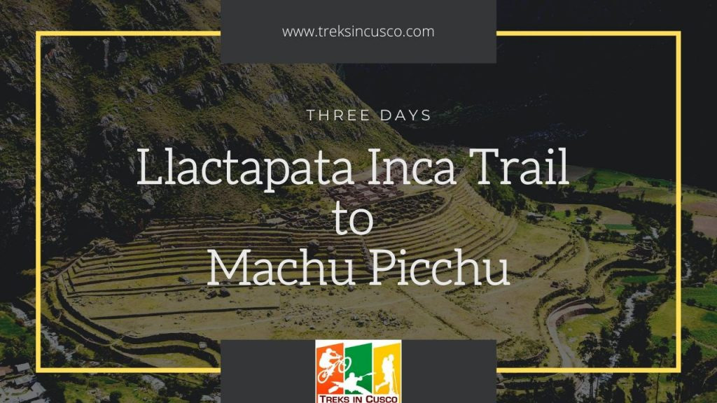 Llactapata Inca Trail to Machu Picchu