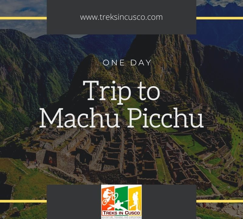 one day trip to machu picchu