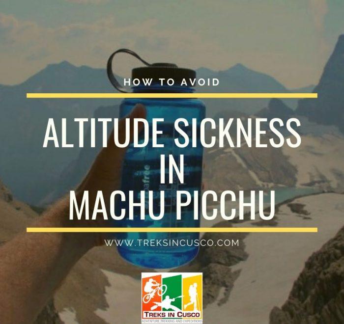 Avoid Altitude Sickness in Machu Picchu