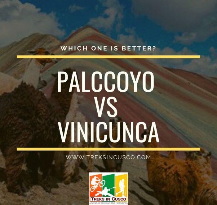 Vinicunca vs Palccoyo Rainbow Mountain