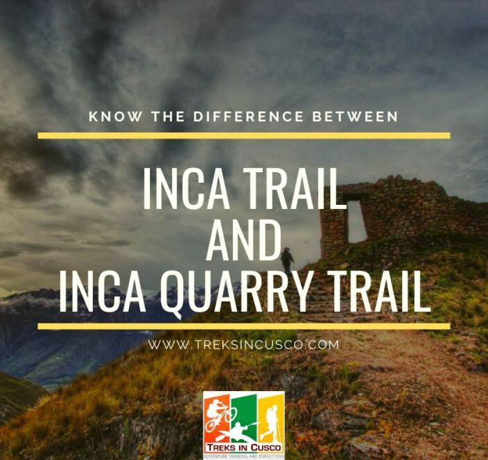 Inca Trail vs Inca Quarry Trail