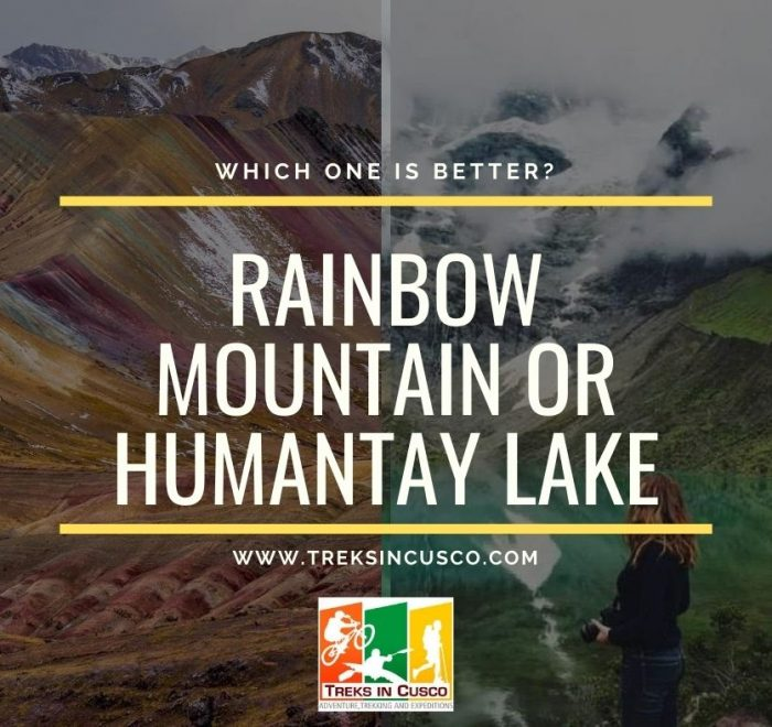 Rainbow Mountain or Humantay Lake