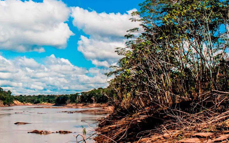 Lake Sandoval Peru